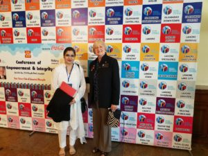 at rotary annual conference